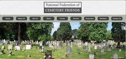 Lik to the National Federation of Cemetery Friends web site