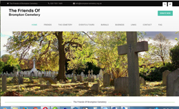 Link to the Friends of Brompton Cmetery web site